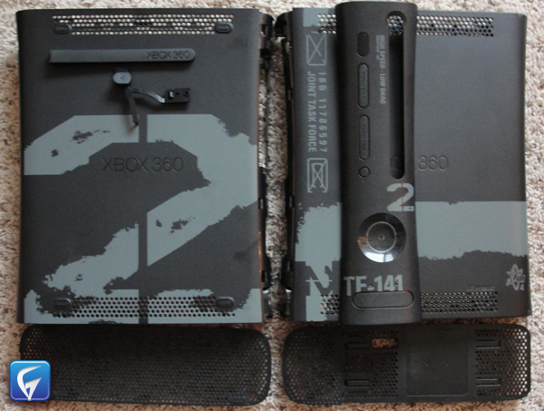 OFFICIAL MICROSOFT XBOX 360 MODERN WARFARE 2 CONSOLE SHELL ...