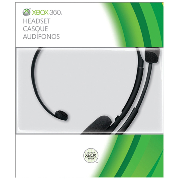 Xbox 360 Headset Official Black