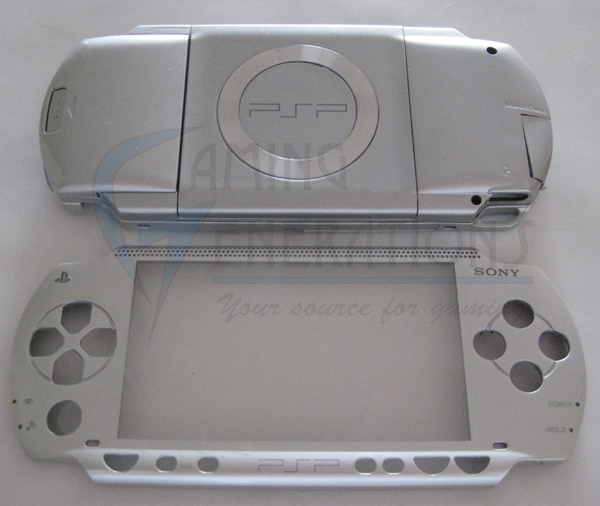 PSP Replacement Shell Housing 1000 Series - METALLIC SILVER