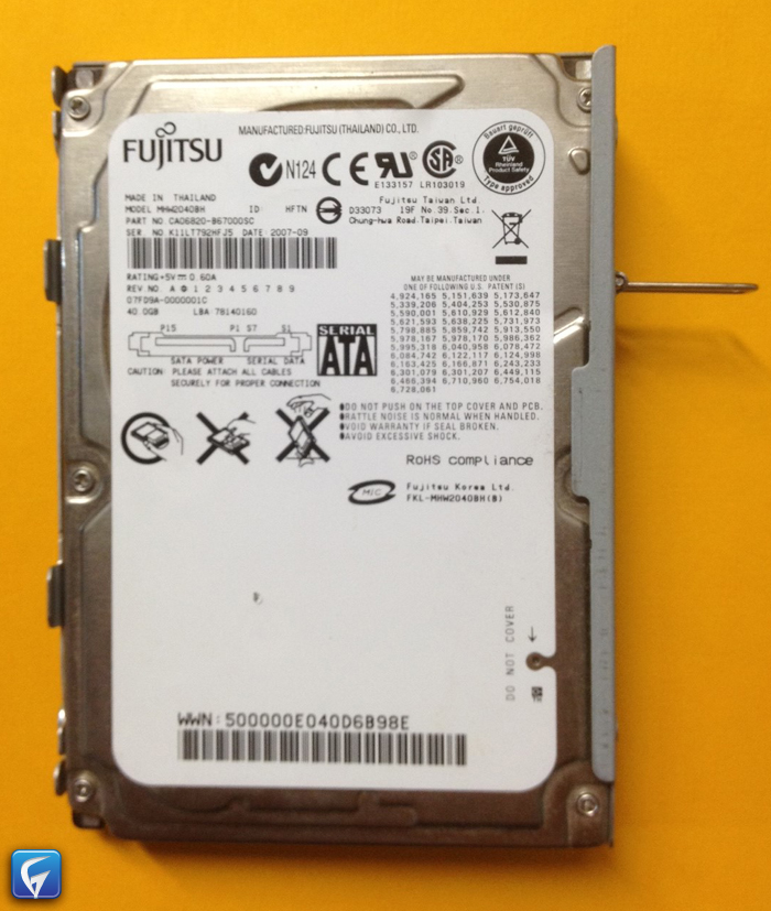 how to change hard drive from read only