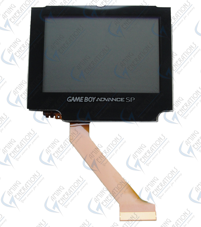 game boy advance sp   gbasp   lcd replacement screen   gameboy