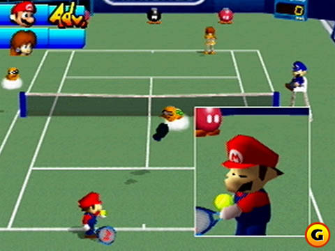 Image result for mario tennis n64