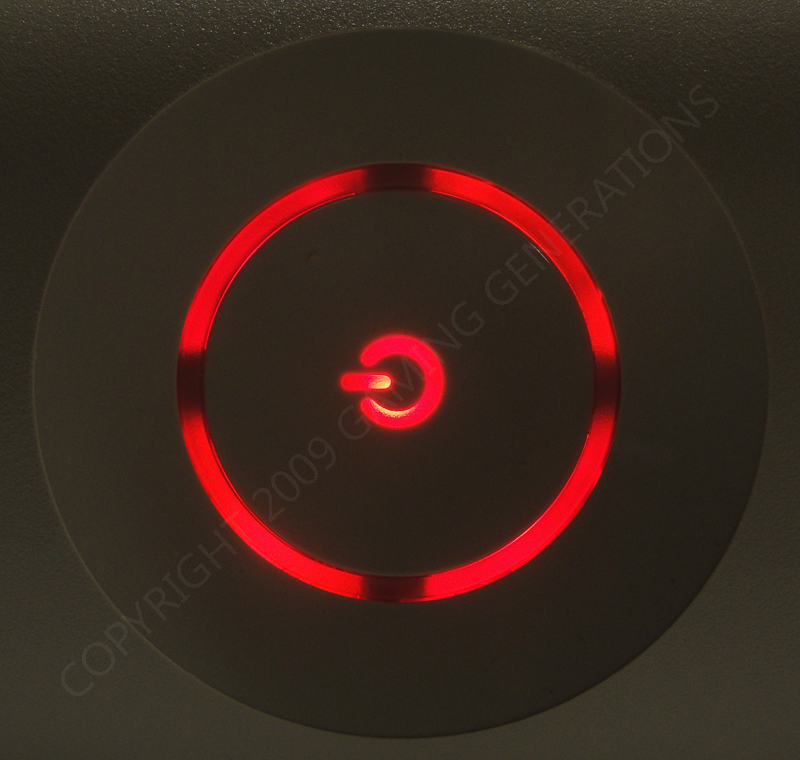 Pre Finished Xbox 360 Ring Of Light Rf Module Red Xbox