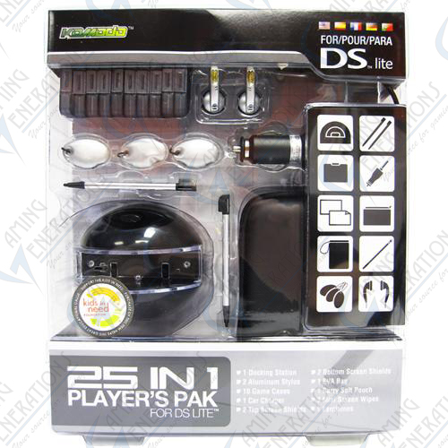 DS Lite - 25in1 Players Pak (Black)