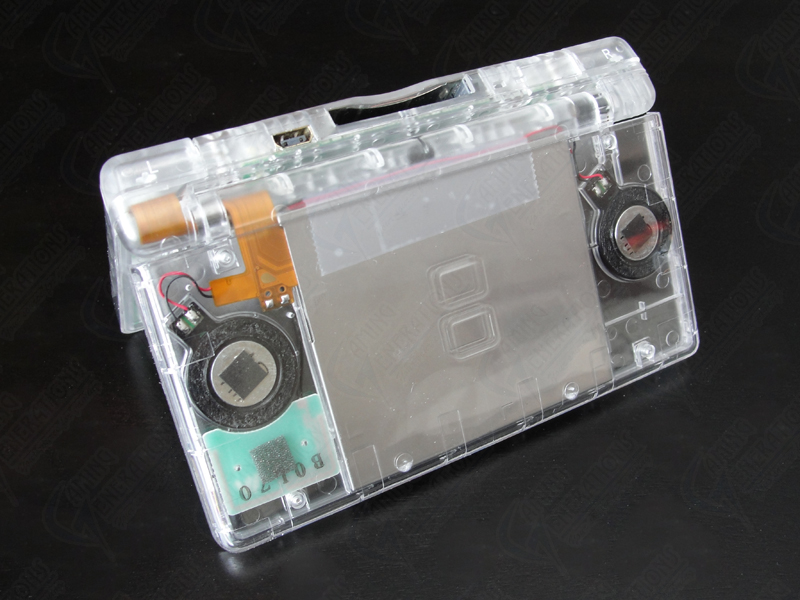 replacement case for nintendo ds lite crystal clear ds lite cases nintendo ds lite repair. Black Bedroom Furniture Sets. Home Design Ideas