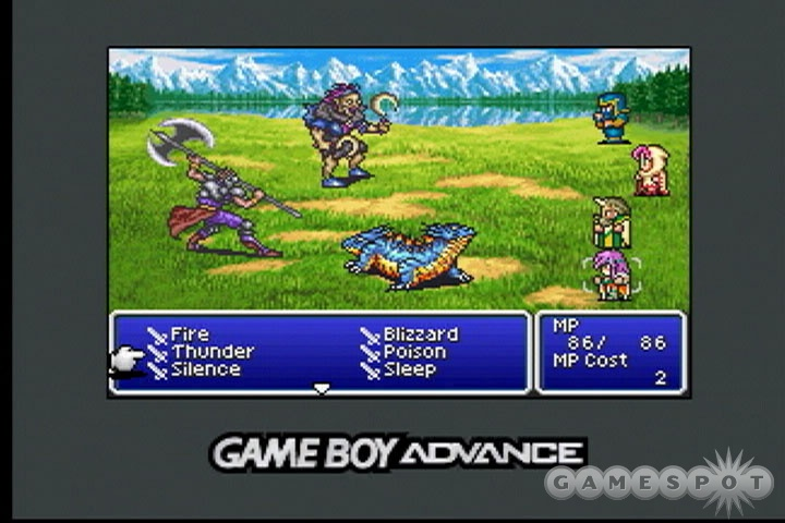 Final Fantasy V Advance Game Boy Advance Used Games