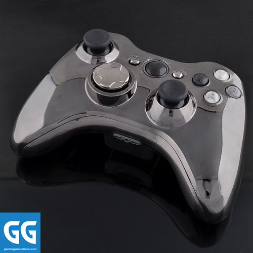 Xbox 360 Custom Controller Shell - Chrome Gun - Chrome ...