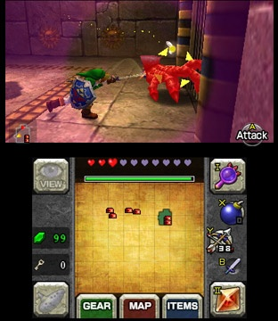 Legend of zelda ocarina of time 2ds 3ds nintendo 3ds new games the legend of zelda ocarina - Ocarina of time 3ds console ...