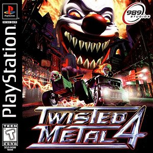 TWISTED METAL 4 - Playstation - Suffering from Road Rage Prefer ...